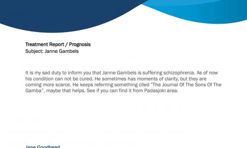 Janne Gambels Missing Presumed Dead, Mikko Is Now Acting CEO
