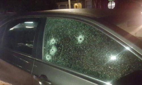 Civilian vehicle shot at Bar Barian