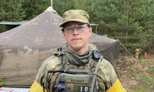 UN Commander Saved By Local Boy And Our Hero, an EGTC Platoon Leader Salminen
